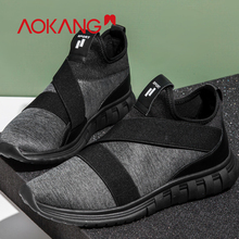 AOKANG 2019 Casual shoes men sneakers tenis masculino adulto breathable hard wearing light zapatillas hombre deportiva