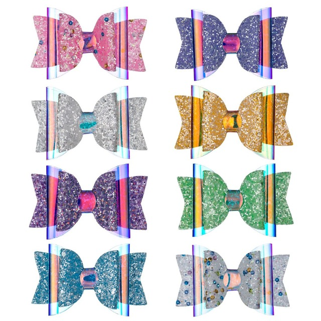 Girl's Sequin Polyester Hair Bow