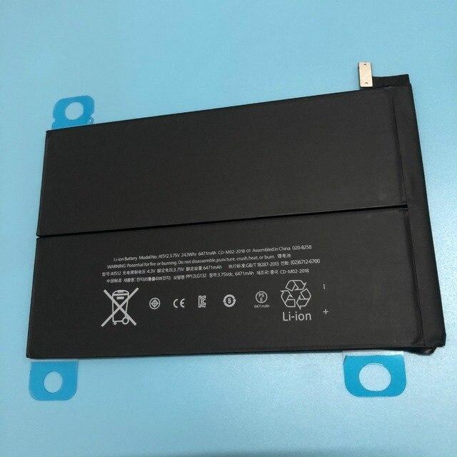 OriWood Cao Chất Lượng 6471 mah A1512 pin cho ipad mini 2 Retina Mini 3 A1489 A1490 A1491 A1512 A1599 pin