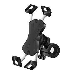 Держатель для мобильного телефона на велосипедной рейке, универсальный держатель на руль, зеркало, держатель для телефона, подставка для мо...