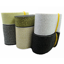quality elastic band / gold and silver wide elastic band / wide belt decoration with 6-7.5cm accessories