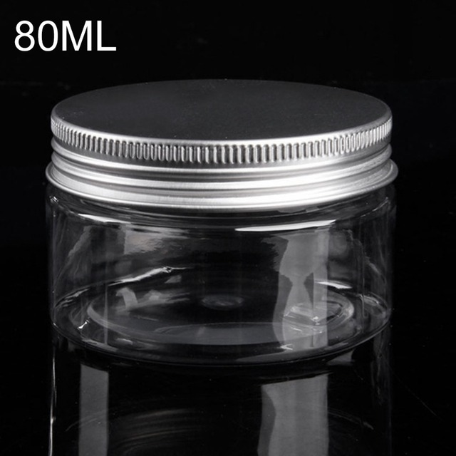 80ml Small Plastic Container With Lids Cosmetic Jar Lotion Bottle Bead Storage Box Powder Cream Jar & 80ml Small Plastic Container With Lids Cosmetic Jar Lotion Bottle ...