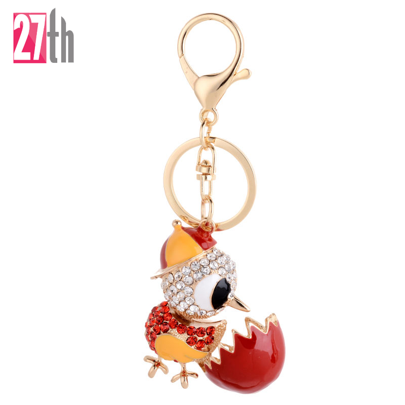 Cock Luxury Keychain Key Chain Key font b Ring b font Holder Keyring Porte clef Gift