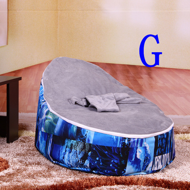 toddler chair bed blue accent chairs multifunctional children sofa on sale easy convenient installation bean bag for luxury