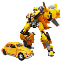 BMB H6001-3 Transformation Alloy Movie Action Figure Oversize Beetle Model Collection Robot Toys Boy Gift
