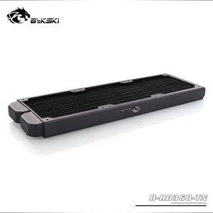 Image 3 - B RD360 TN Bykski, grzejniki 360mm jeden rząd, grubość 29mm, standardowe chłodnice wodne, odpowiednie dla wentylatorów 120*120mm
