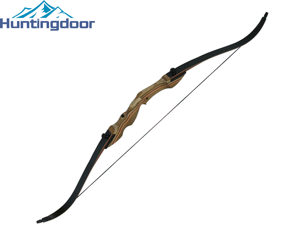 Adult Hunting Archery Takedown Bow 60'' 55# Laminated Wood Longbow with Universal 2M Bow Stringer wholesale archery equipment hunting carbon arrow 31 400 spine for takedown bow targeting 50pcs