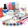 Full Acrylic Powder Glitter acylic Liquid UV gel primer Tools Nail Art Kit304
