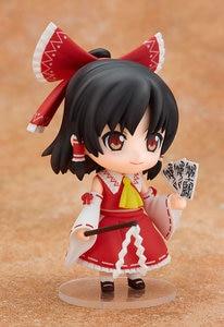 Image 3 - New Arrival 10cm Anime Action Figure Touhou Project Cartoon Hakurei Reimu 74# PVC Model Collection Cute 4 Mini Doll 1/10 Scale