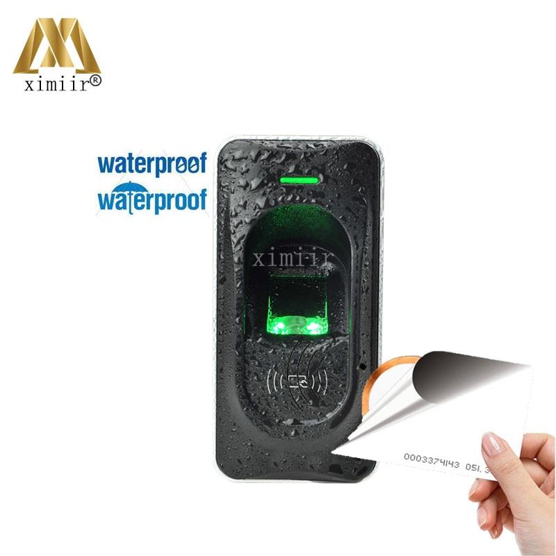 RS485 Fingerprint Reader For Access Control System Inbio460 Access Control Panel ZK FR1200 Fingerprint And RFID Card Reader biometric fingerprint access controller tcp ip fingerprint door access control reader