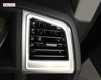 Hogere ster ABS chrome 2 stuks auto windows Lifting Knoppen panel decoratie cover, bescherming stok voor Volkswagen T5/T6 2016-2019