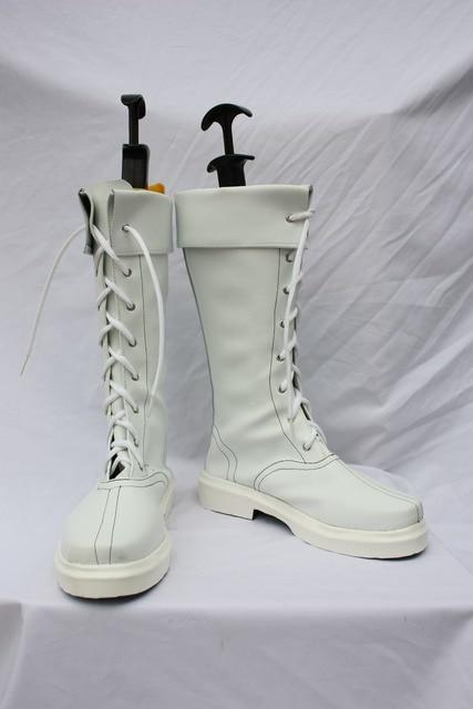 Aliexpress.com : Buy Street Fighter Game Chun Li White High Boots ...