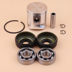 Image 5 - 39mm Piston Pin Ring Crank Bearing Oil Seal Kit Fit Husqvarna 235 236 236E 240 240E Chainsaw Engine Parts 545081894, 530056363