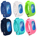 Smart watch crianças meninas meninos brinquedos chrismas presente q50 inteligente relógio de Pulso com Eletrônica Chamada SOS GPS Rastreador Anti Perdido relógio