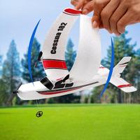 FX801 RC Airplane Plan 20 Minutes Flight Time Gliders 2 C H 2.4G Flying Model Hand Throwing Wingspan Foam Plane Toys Kids Gifts