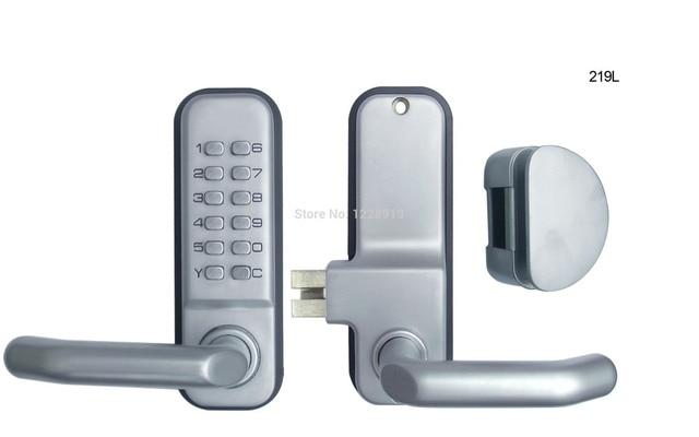 Code De Verrouillage Mécanique Avec Poignée Alliage De Zinc De - Poignée de porte a code