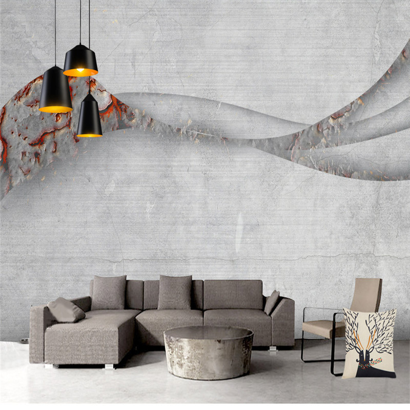 3D European Vintage Wallpapers Custom Abstract Gray Murals Photo Wall Papers for Living Room Bedroom Background Walls Home Decor 3d custom wallpaper european style abstract woods simple living room bedroom tv background wall murals wall papers home decor