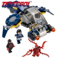 Marvel Super Heroes Carnage SHIELD Sky Attack Model Building Blocks figures Compatible With Lego 07030