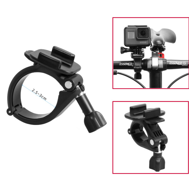 Abs Aluminum Alloy Handlebar Bar Clamp Mount Bicycle Bike Cycle