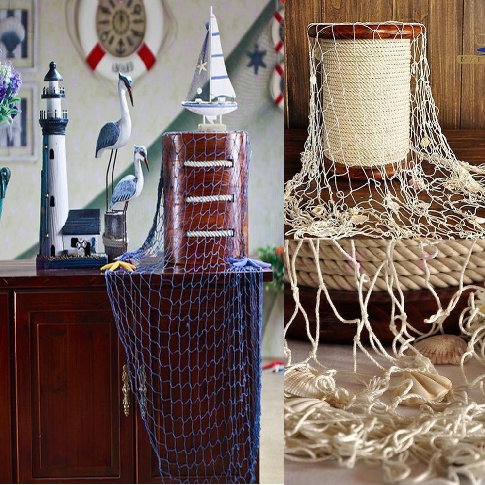 Fish Net Decoration Ideas Vanity 301