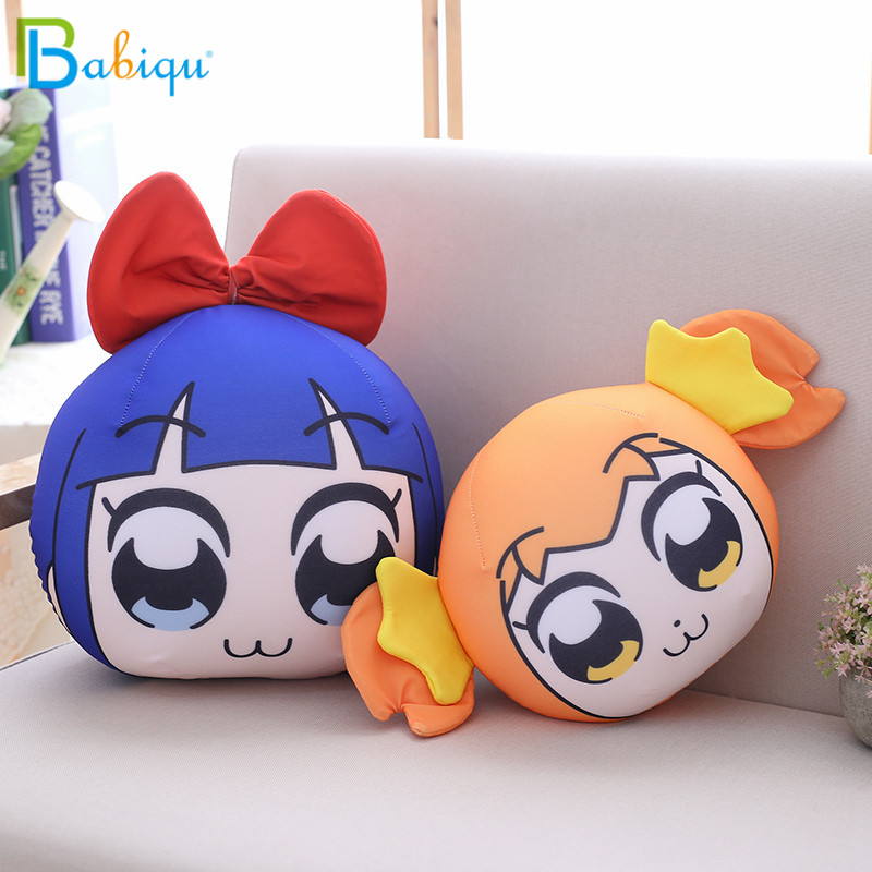 Babiqu Cute Japanese Anime Peripheral Plush Toy Stuffed Soft POP TEAM EPIC Pop Pipi Popko Pipimi Pillow For Kids Birthday Gift