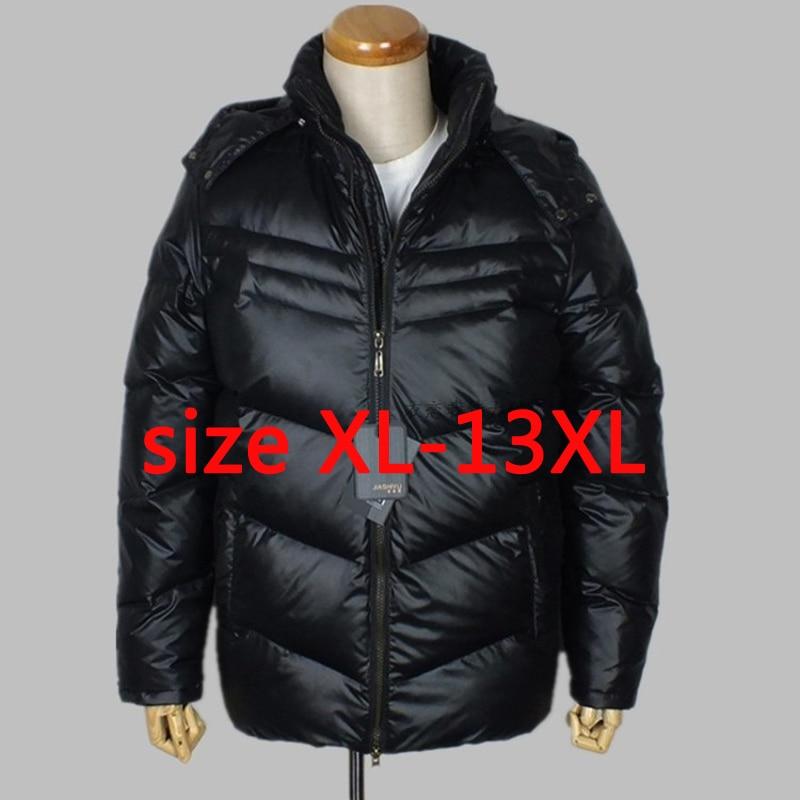 Nouveauté obèses poitrine 185 CM manteau HOMMES hiver thermique manteaux grande taille XL-4XL5XL 6XL 7XL 8XL 9XL 10XL11XL 12XL 13XL
