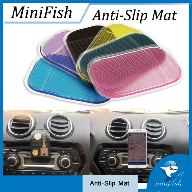 5 PCS Car Accessories Anti-Slip Styling Non-Slip Mat Anti Slip Mat Holder...
