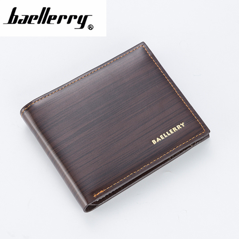 2019 New Fashion Pu Leather Men's Wallet With Coin Bag No Zipper Money Purses Dollar Slim Purse New Design Money Wallet 101