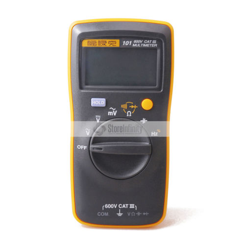 Original Fluke 101 Basic Digital Multimeter Pocket digital multimeter auto range 100% original fluke 15b f15b auto range digital multimeter meter dmm