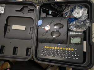 Image 5 - S700E خط رقم آلة يمكن توصيلها إلى غلاف الكمبيوتر آلة وسم الحرارة أنبوبة قابلة للانكماش طابعة S650E ترقية