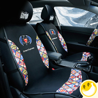 Universal car seats cover Marvel Style For Ford 2013/2014/2015/2016 seat cover custom pu leather decorative car seat cushions