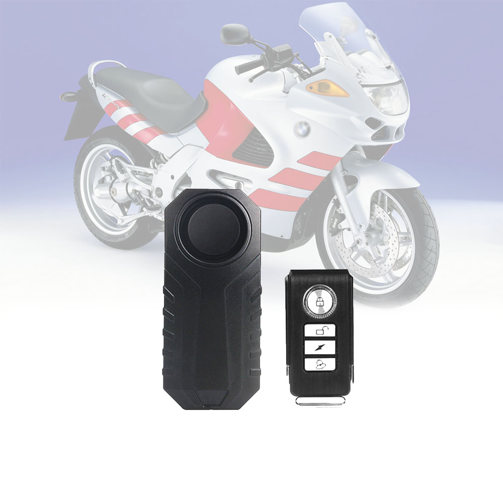 Remote Control Vibration Alarm Motorcycle Electric Bike Vehicle Security Anti Lost Remind Mini Warning Sensor System