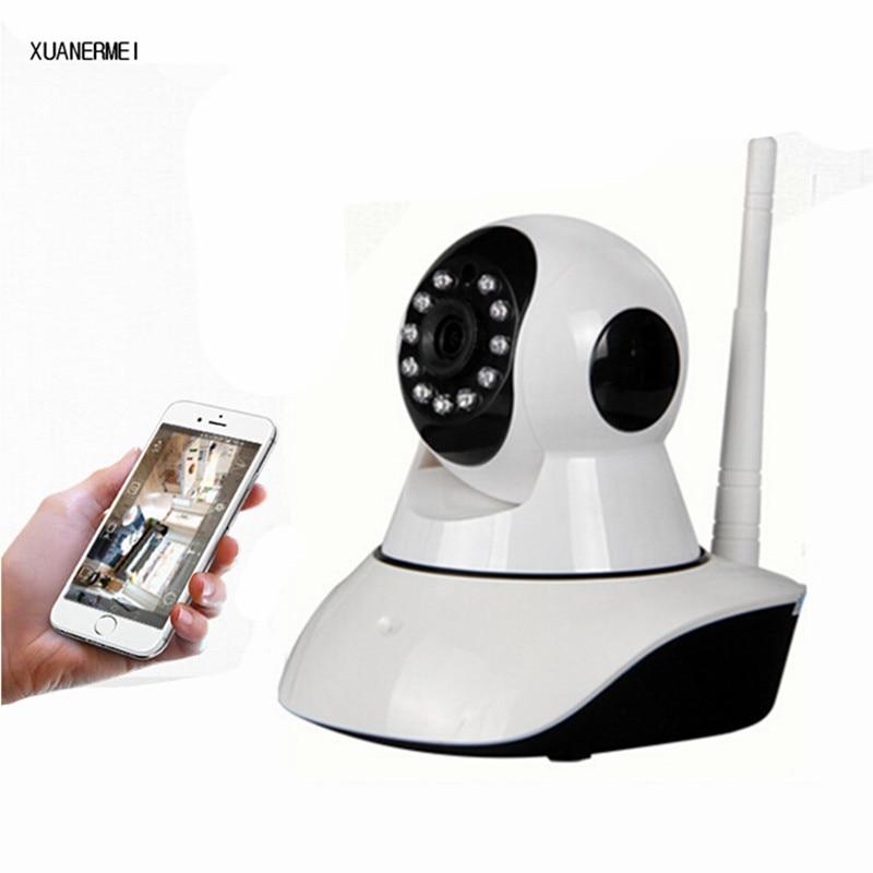 XUANERMEI Baby Monitor Smart IP Camera wireless WIFI HD 720P Night Vision Two Way Audio Wireless CCTV Surveillance IP Camera
