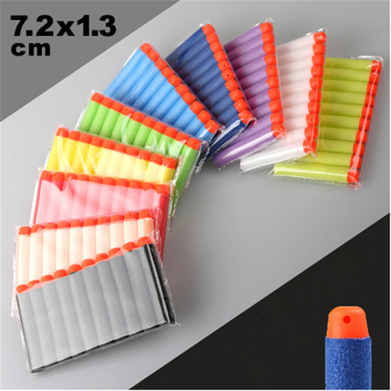 100Pcs-Multicolor-72CM-EVA-Soft-Hollow-Hole-Head-Refill-Darts-Toy-Gun-Bullets-for-Nerf-Series-Blasters-Kids-Birthday-Gifts-1