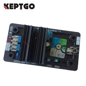 R250 Generator Automatic Voltage Regulator AVR for Generator Alternator