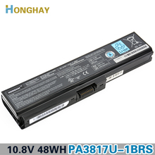 Honghay PABAS228 Laptop computer Battery for Toshiba L750 L700 C660 C660D L740 L770 L640 A600 L645 PA3817U-1BRS PA3817U PA3818U-1BRS
