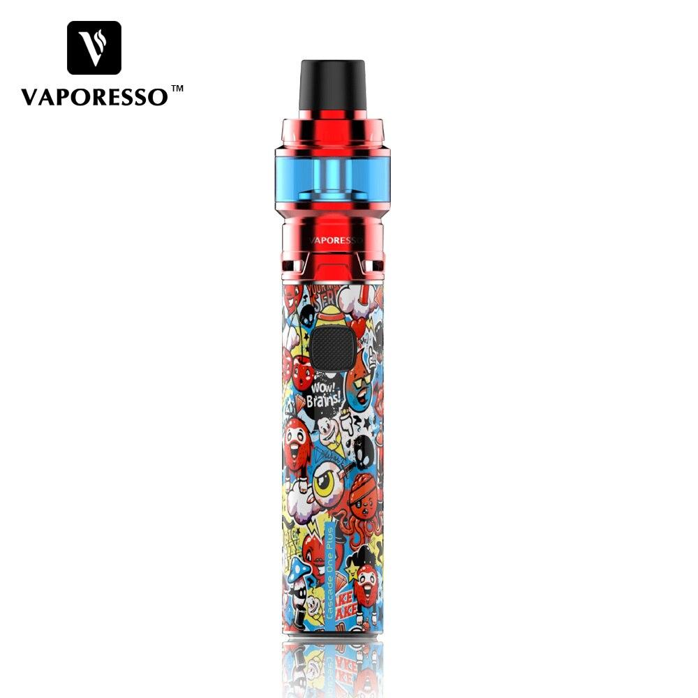 AIO Stylo Vaporisateur Kit D'origine Vaporesso Cascade Une Plus SE Kit 3000 mah Batterie 6.5 ml Réservoir & GT Maille bobine Cigarette Électronique Kit
