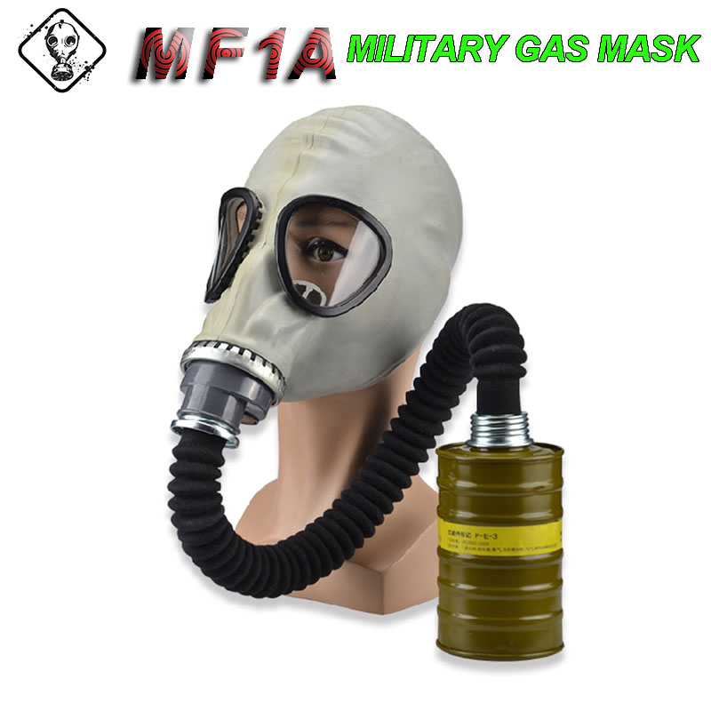 MF1A Military Gas Mask Military Quality Natural Rubber Respirator Mask Chemical Prevention Nuclear Pollution Prevention Gasmaske