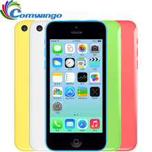 "Débloqué original apple iphone 5c 32 gb + 1 gb de stockage iphone 5c gsm hsdpa dual core 8 mpix caméra 4.0 ""écran iphone5c"