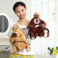 new plush bear bag children cartoon shoulder small kindergarten backpack