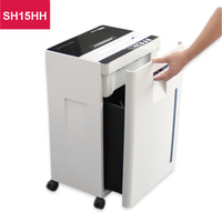SH15HH heavy duty paper shredder 220V large broken paper machine 360W CD electric paper shredder automatic silent Shredder