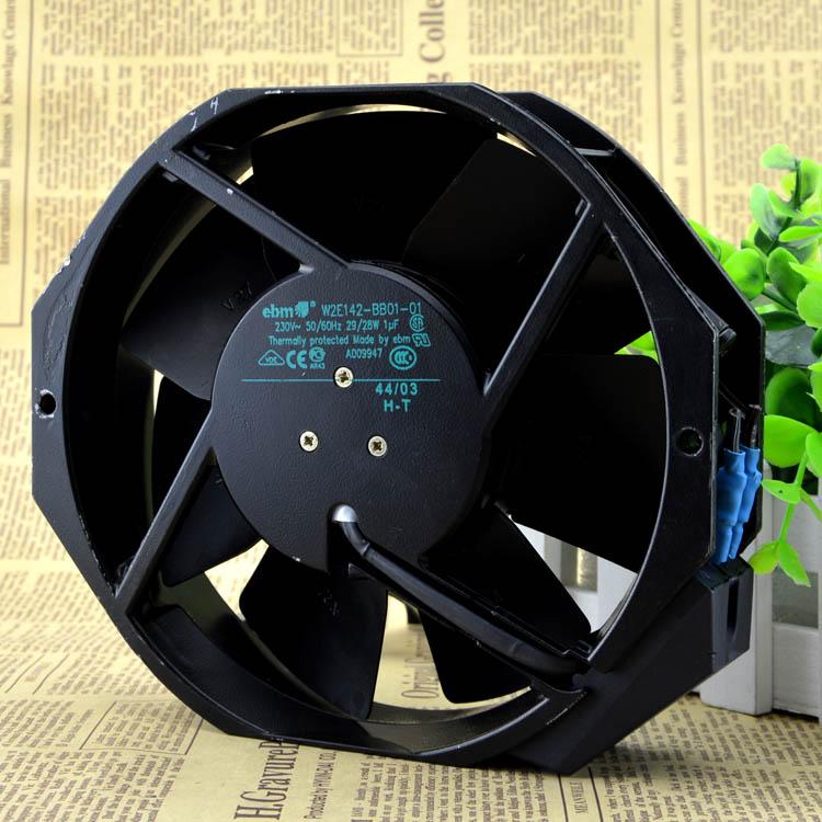 Free Delivery. 17238 original W2E142 BB01-01-220 v 29/28 w all metal cooling fans original ebmpapst17238 230v w2e142 bb01 01 cooling fan
