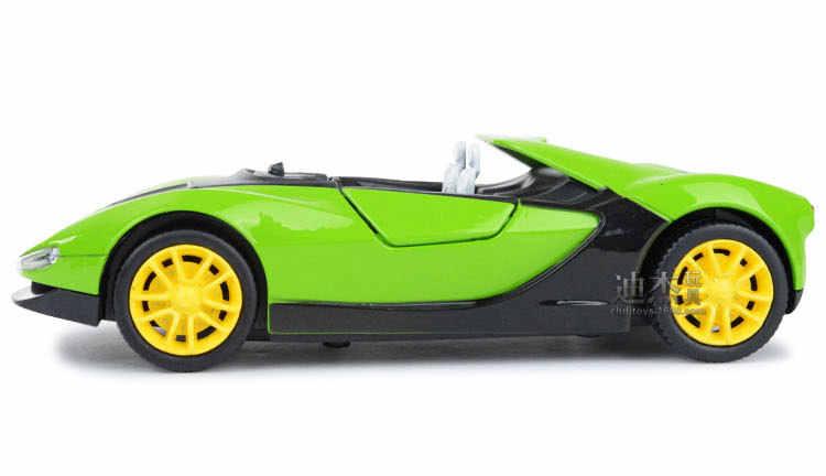 Kaidiwei Bintang Super Paduan Model Mobil Anak Acousto Optik Refleksif Mainan Mobil Sport Menarik Kembali Berkedip Suara Anak mainan