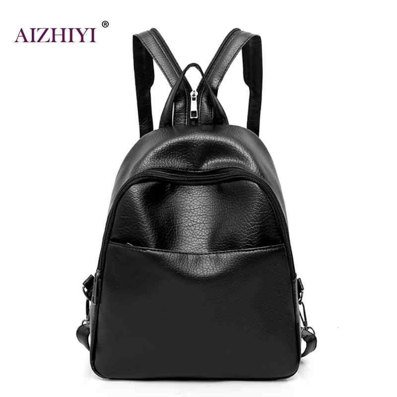 3d353ac2435e компл. женский, черный рюкзак из искусственной кожи Портфели школьные  рюкзаки ...