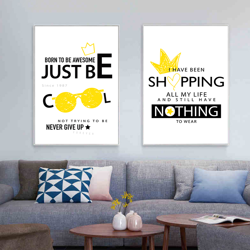 I HAVE NOTHING TO WEAR Life Quote Picture Poster Prints Home Décor