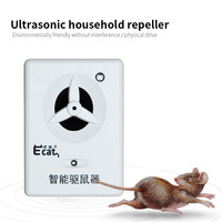 Ecat repeller ultrasonic electric cat trapping rodent high power warehouse supermarket home strong anti cat