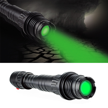 Drop shipping Handhold low temperature adjustable 50mw green laser designator for rifle and outdoor hunting