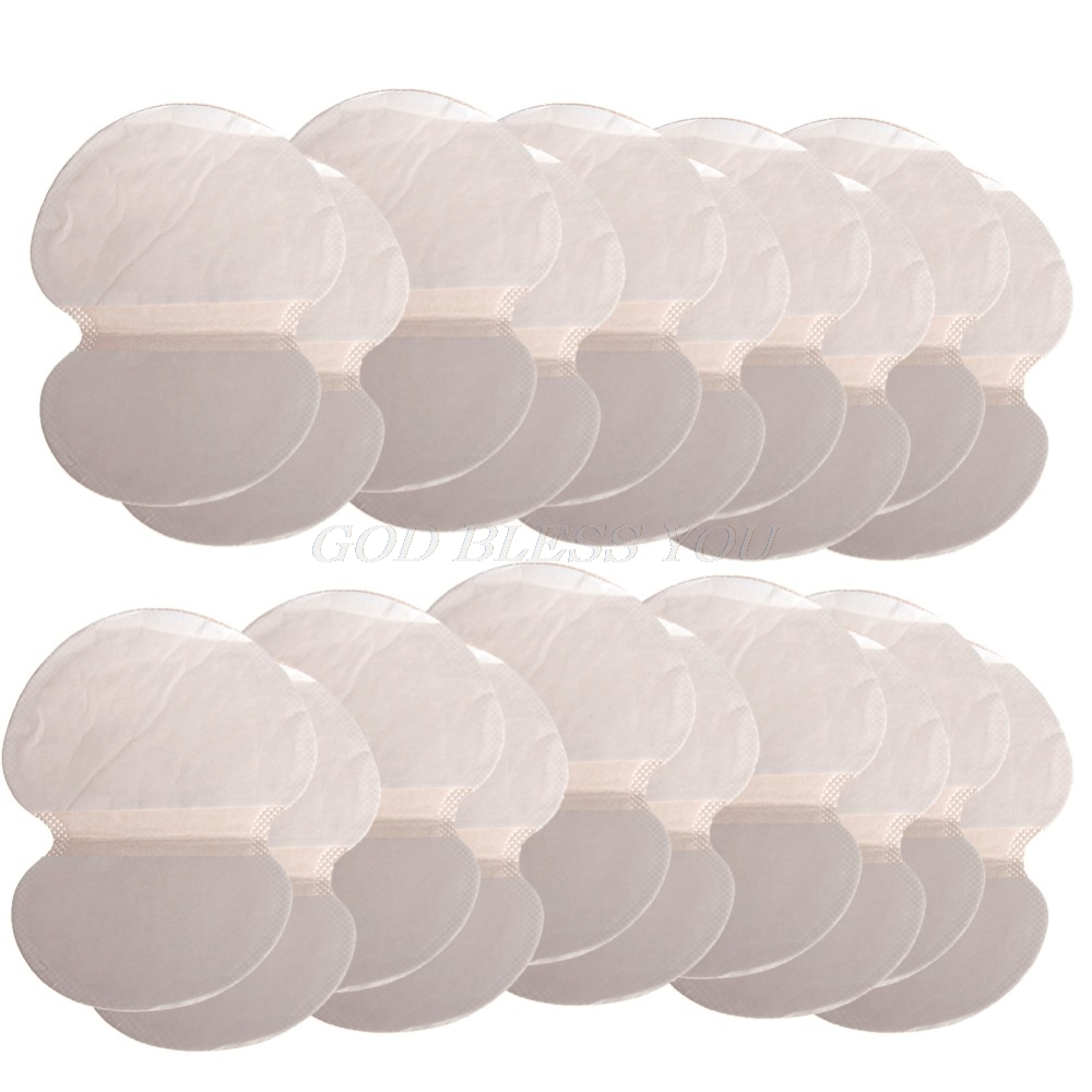 20PCS Disposable Underarm Absorbing Sweat Deodorant Armpit Antiperspirant Pads