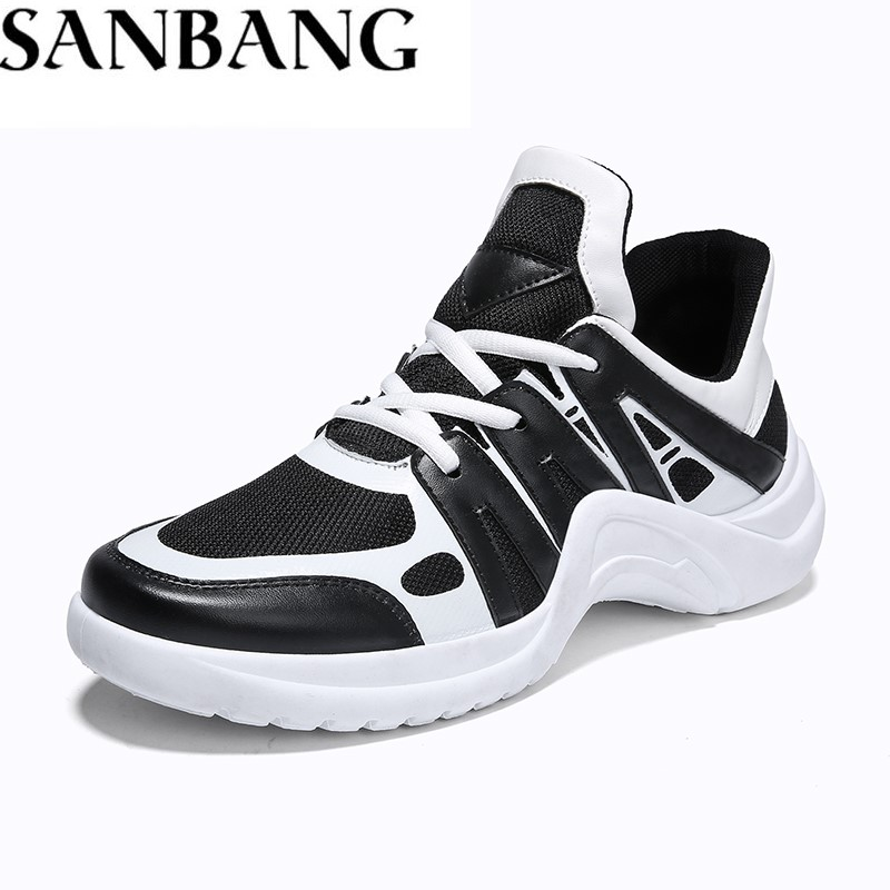 2018 Summer Men Sneakers Breathable Spors Necessary Stability Light Weight Lace Up Impact Resistance Balanced Running Shoes WX4 ...