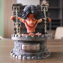 Новый аниме One Piece Эйс тюрьма портгаз D Ace Луффи Сабо пожарный кулак Aciton фигурка модель коллекционные игрушки 16 см